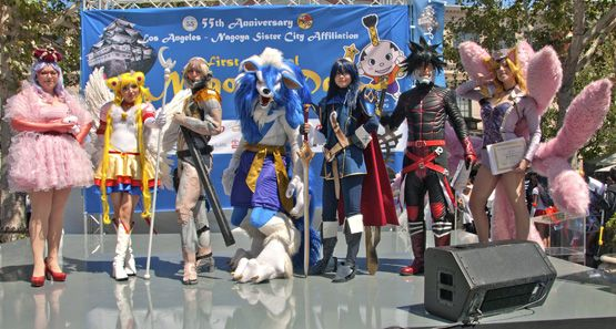Top 7 Contestents of the 2014 Tokyo Journal Cosplay Contest