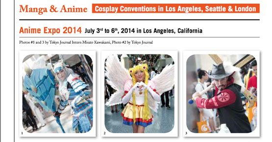 L.A., Seattle & London Cosplay Conventions