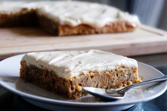 Carrot Cake with Cinnamon Ginger Cream Cheese Frosting
