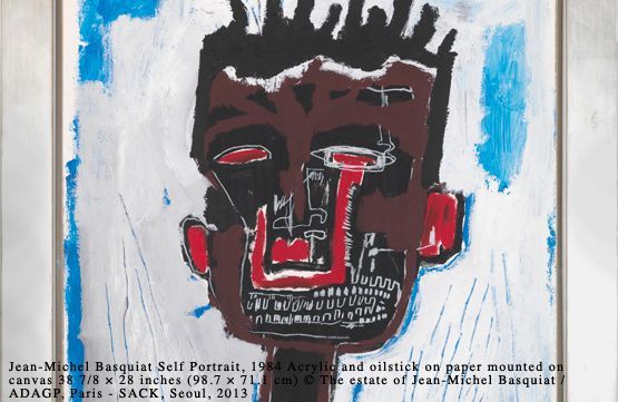 Jean-Michel Basquiat Self Portrait 1984