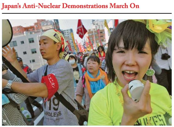 Tokyo Anti-Nuclear Demonstrations