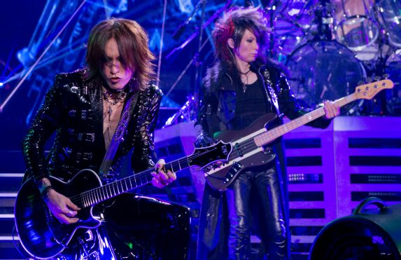 X Japan Rocks New York - SUGIZO