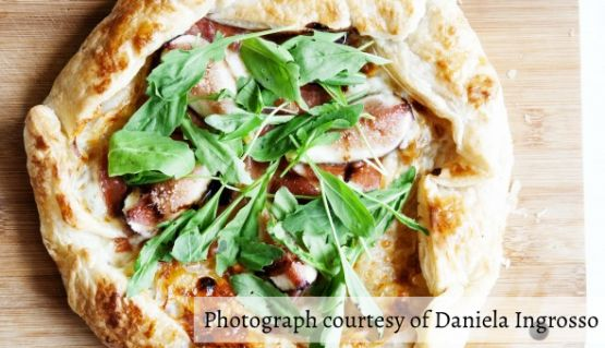Figs and Ham Tart